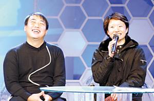 刘国梁与女友婚后甜蜜 乒球少帅谈及感情仍害羞