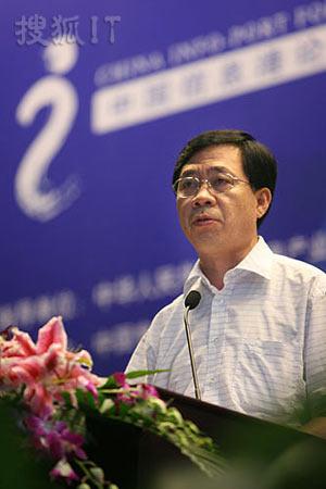 图文:中国网通CEO左迅生
