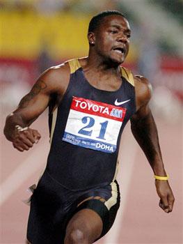 图文:百米世界纪录保持者加特林药检呈阳性