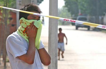 安徽来安一座化工厂爆炸 周围近万名居民被疏散