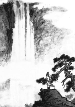 望庐山瀑布(古诗赏析)(图)-搜狐新闻图片