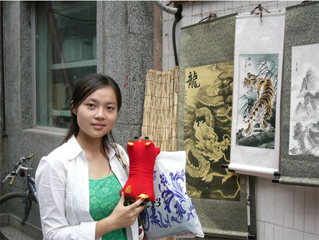 北京大学参赛选手:卞宇茜