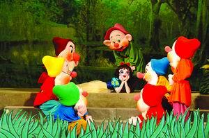 五大高手联手打造梦幻卡通舞台剧《白雪公主》