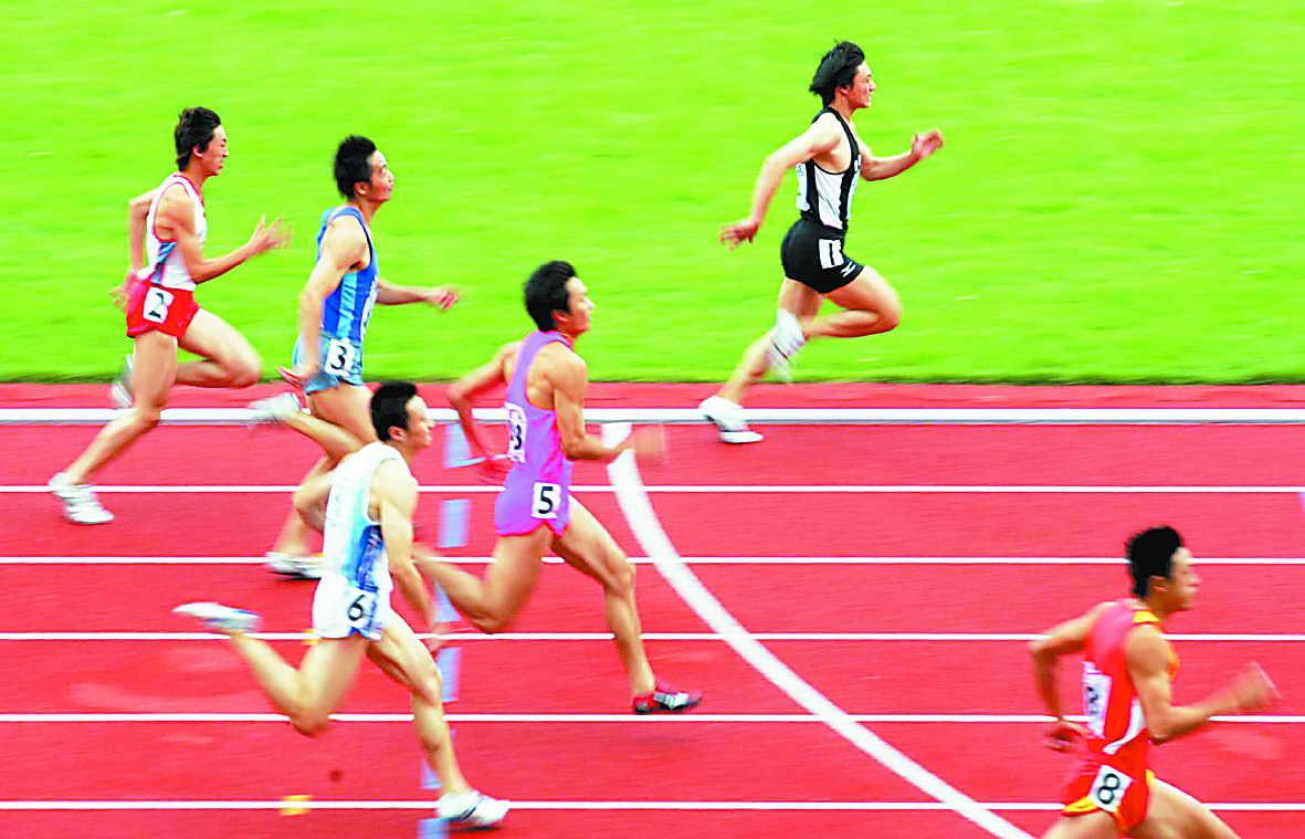 田径比赛是运动场上最为激动人心的赛事之一,也是奥运会比赛项目的图片