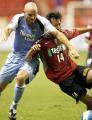 图文:上海国际足球锦标赛 鹿岛鹿角胜曼城