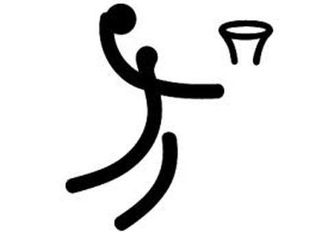 北京2008奥运会体育图标揭晓 篮球