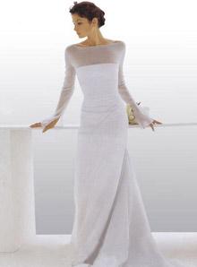 富居家感且轻柔自在的礼服,是双鱼座新娘的最爱.白羊座婚纱-根据