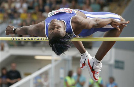 图文:欧洲田径锦标赛 法国名将巴贝尔实力不俗