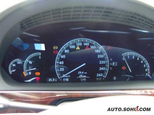新款奔驰s600中国上市 搜狐独家详细解密图片