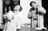 冯宪珍、焦晃主演话剧《SORRY》演绎中年爱情