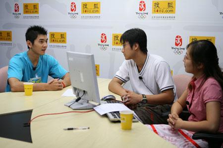 邢傲伟作客搜狐谈奥运 规则针对中国体操需用脑