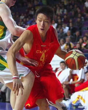 中国男篮孙悦祝福北京2008奥运 两年后用实力报效祖国