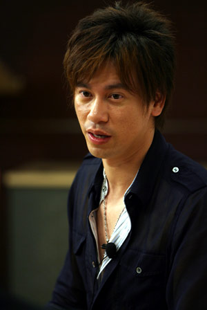 情歌王子为情伤 李圣杰搜狐分享恋爱心得(图)