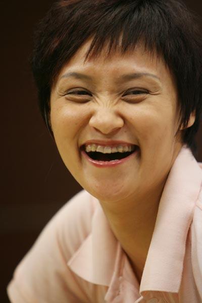 图文:奥运冠军高敏做客搜狐 畅谈2008北京奥运