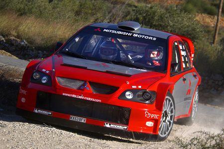 三菱、斯柯达重返WRC 2008可能使用法比亚赛车