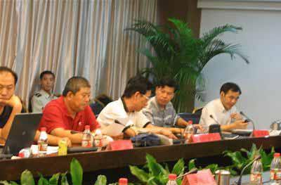 图文:国家防总专家组到温州防办指导抗台