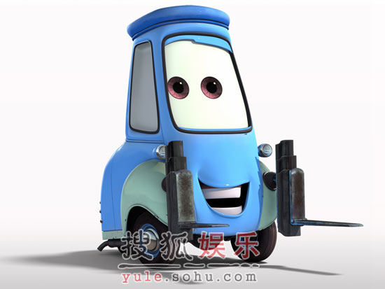 """众里寻""""车""""之《赛车总动员》Guido(组图)"""