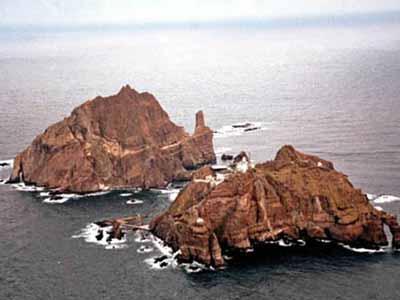 韩首次制标记东海和独岛地图 向全世界发布(图)