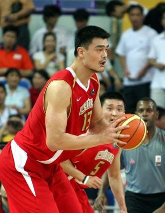 组图:斯杯中国63-61胜澳大利亚 姚明砍下两双