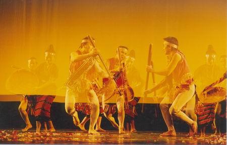 组图:老挝参加第八届亚洲艺术节