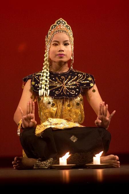 组图:马来西亚参加第八届亚洲艺术节