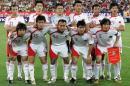 图文:亚洲杯预选赛中国VS新加坡 国足首发阵容