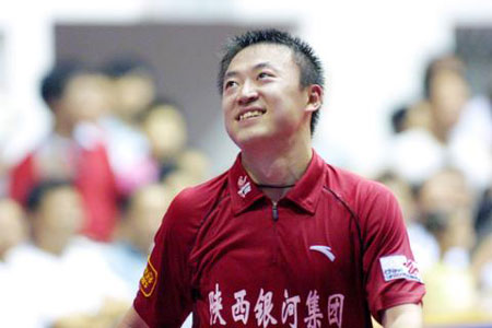 图文:男子团体第17轮 陕西银河提前蝉联冠军