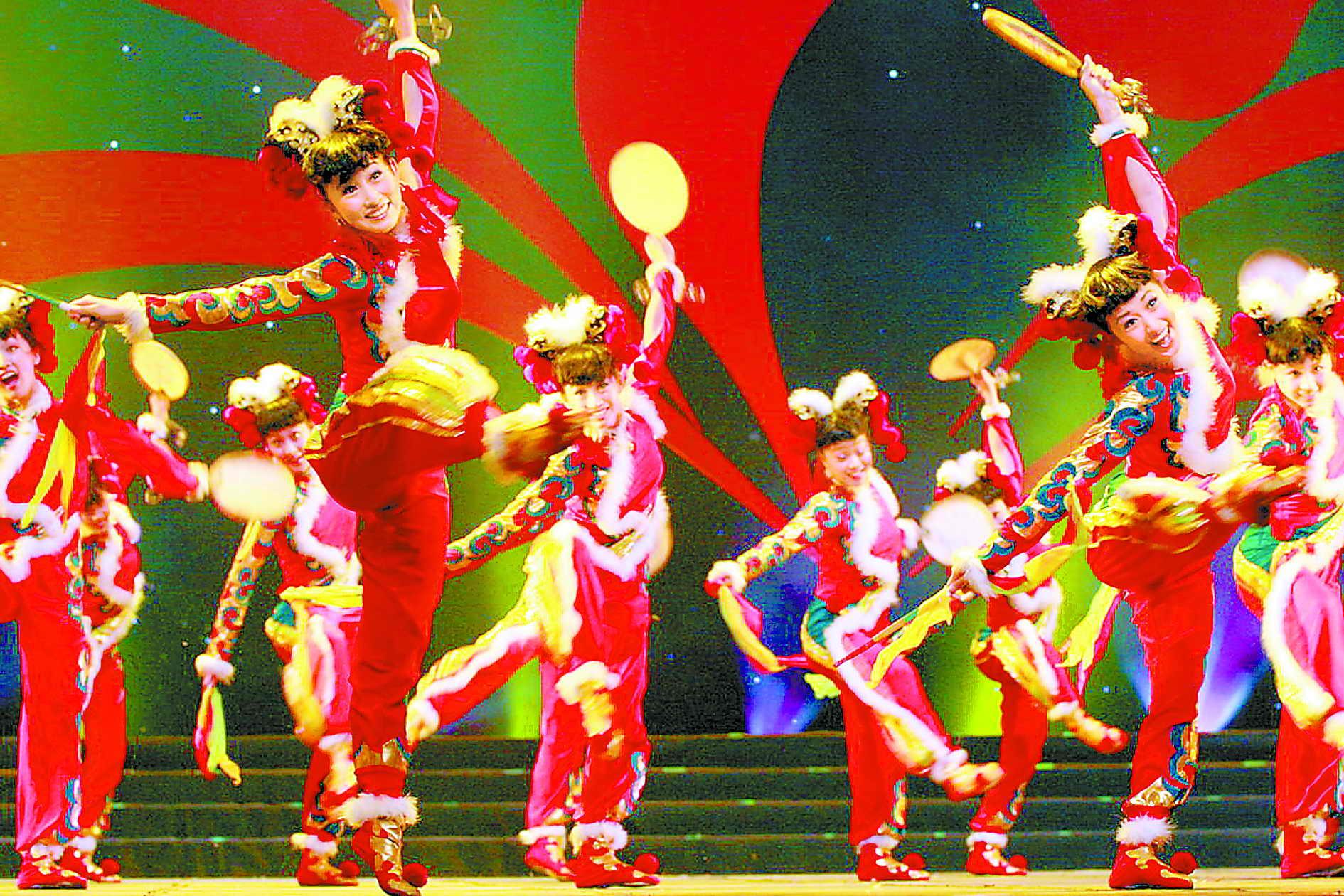 第八届全国桃李杯舞蹈比赛落幕(图)
