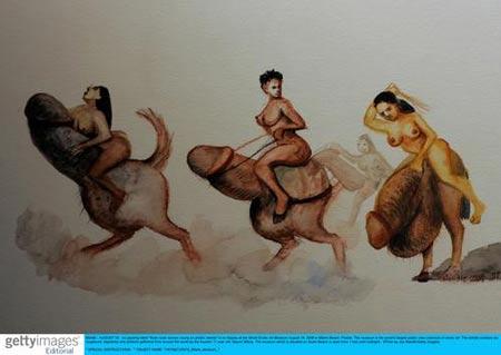 女性成人私处艺术裸体_组图:美国迈阿密性艺术博物馆里的情色诱惑