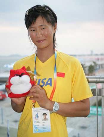 搜狐体育对话徐莉佳 期待奥运实现金牌零突破