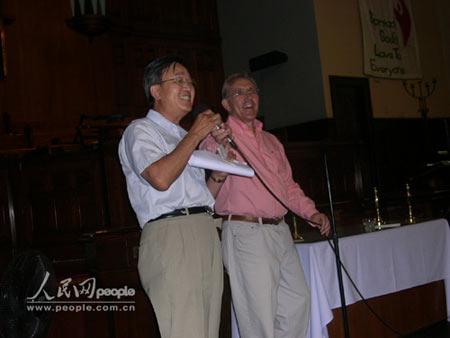 加拿大渥太华市长称赞华人对多元文化贡献(图)
