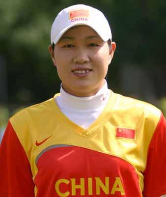 女垒队员介绍:投手--刘宗霞
