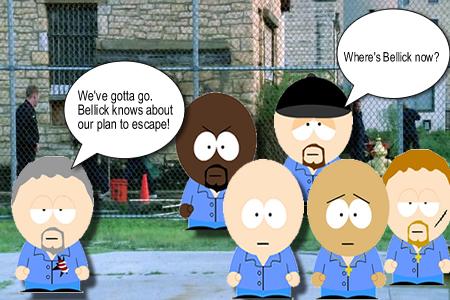 《越狱》之南方绅士版漫画1漫画公园合集图片