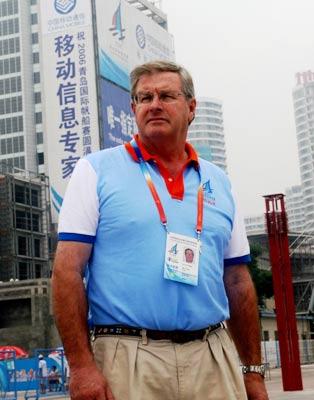 专访国际帆联副主席凯利特:奥帆赛场是伟大工程