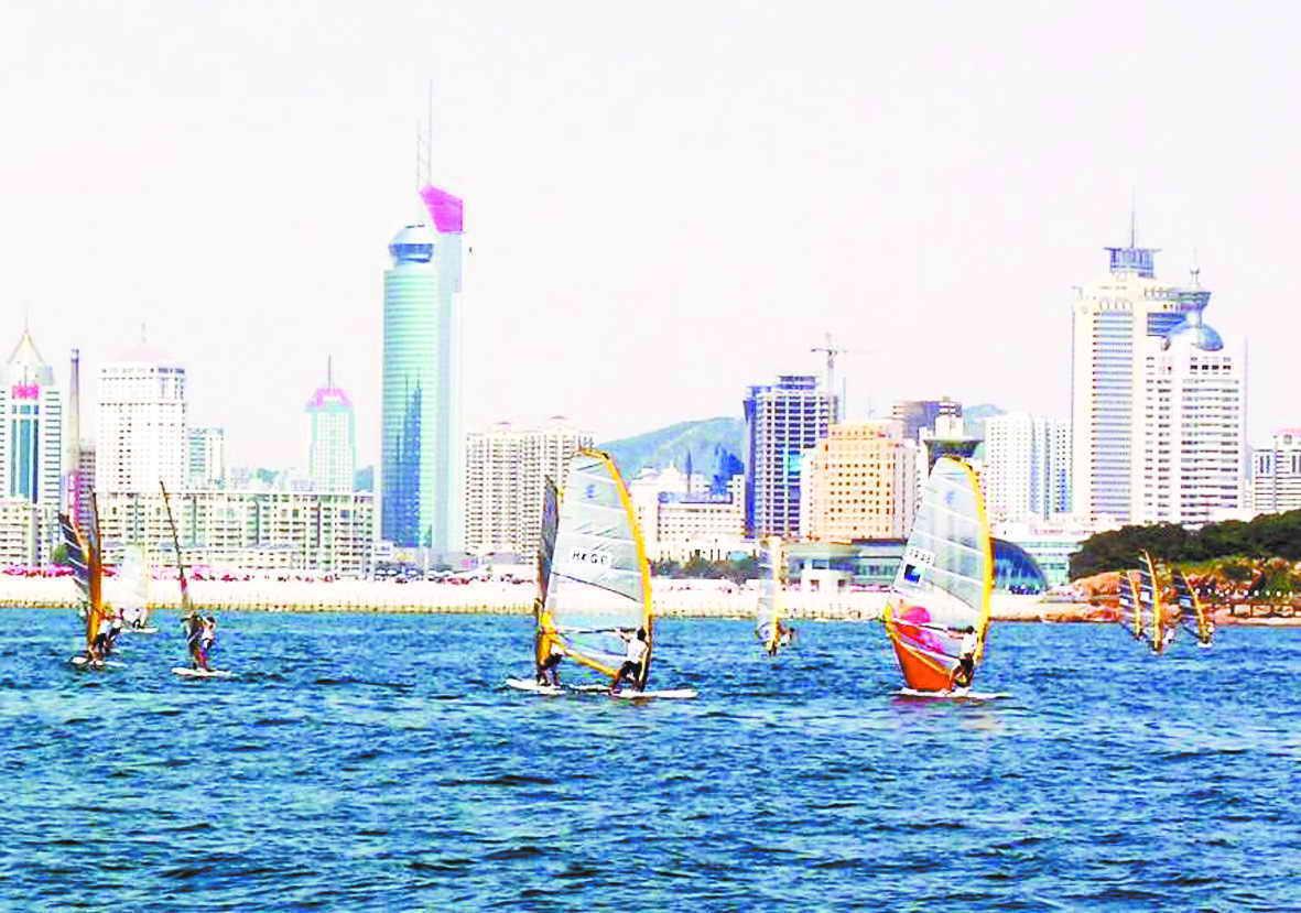 副市长谈国际帆船赛 臧爱民:青岛是北京的伙伴