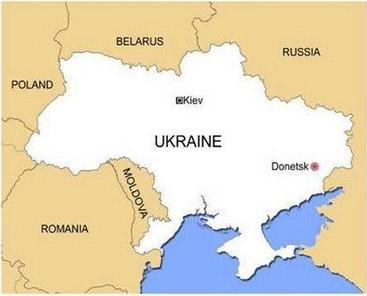 图文:俄罗斯载有170人客机在乌克兰上空坠毁