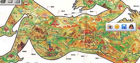 西藏文成公主镇魔图