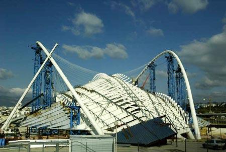 图文:历届奥运会主体育场 雅典奥林匹克体育场