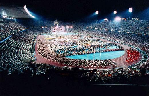 图文:第25届奥运会场馆 巴塞罗那蒙锥克体育场