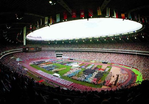 图文:第21届奥运会 蒙特利尔奥林匹克体育场