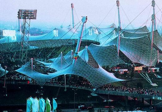 图文:第20届奥运会场馆 慕尼黑奥林匹克体育场