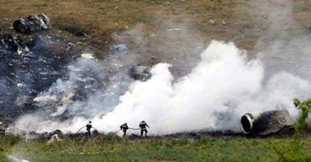 俄坠机现场找到150具遗体 寻遗体工作基本结束
