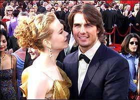 汤姆克鲁斯与第二妻子-著名女星妮可-基德曼