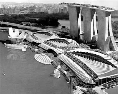 新加坡打造全球最贵赌场 将建巨大空中花园(图)