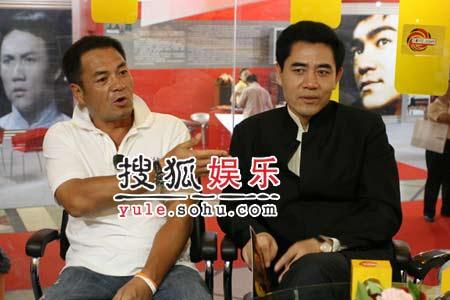 快讯:陈宝国尤勇做客搜狐聊《越王勾践》