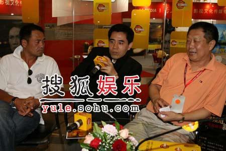 独家:陈宝国尤勇做客搜狐访谈室3