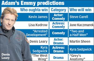 艾美奖获奖名单即将揭晓 美国剧评人做出预测