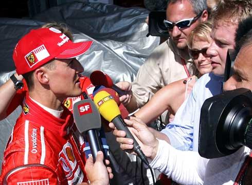 舒马赫承认已做出决定 车王将在蒙扎揭晓F1未来