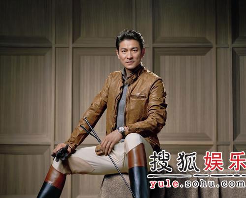 刘德华做代言拍摄广告 骑马装束英姿飒爽(图)
