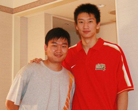 专访孙悦:心态放松才能打好球 去NBA不坐板凳